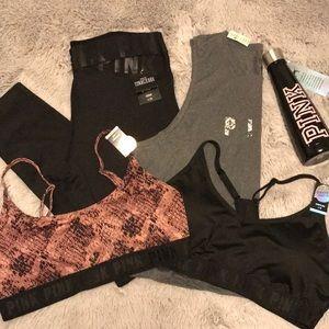 Victoria's Secret Pink workout bundle